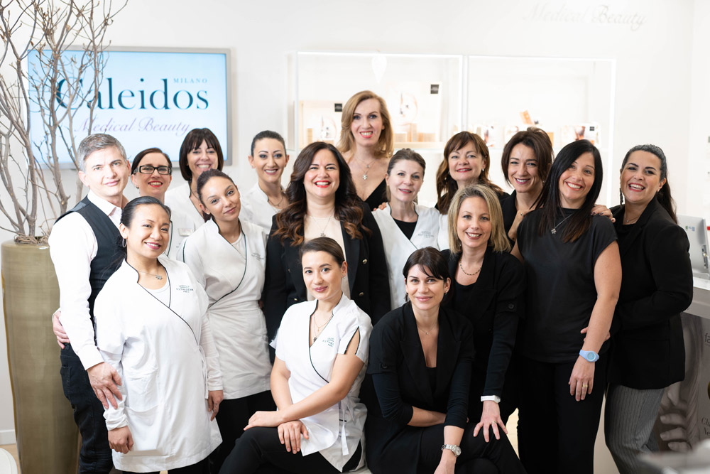 staff centro caleidos medical beauty milano